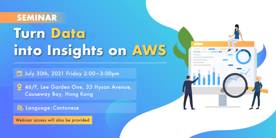Turn Data into Insights on AWS